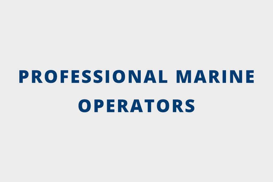 Professional Marine Operators